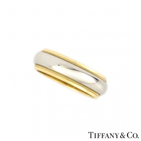 Tiffany & Co Yellow Gold & Platinum Band